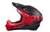 Alpina Fullface dh-/fullface-kypärä , punainen/musta